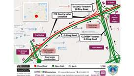 G Ring road closure