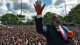 Malawi opposition leader sworn in as new president