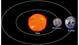 Mercury to pass between Sun and Earth on Wednesday