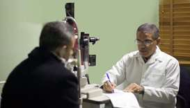 Qatar Charity's prosthetic eye project lights up the lives of Palestinians