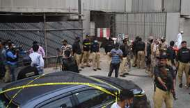 Gunmen attack Pakistani stock exchange, six killed: police