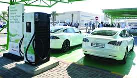 Kahramaa aims for 500 electric car charging stations by 2022