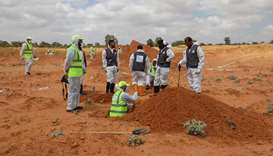 Nine bodies found in new Libya mass grave: pro-govt forces
