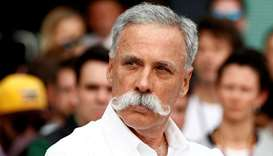 Formula One group CEO Chase Carey. (Reuters)