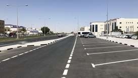 Upgrading works completed on Al Jazira Al Arabiya Street