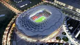 Education City Stadium completed