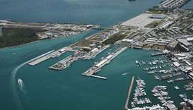 US navy base in Key West Florida