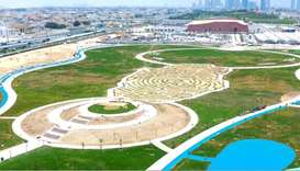 Third anniversary of resilience sees 5/6 Park project's main works completed