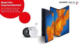 New Huawei Mate Xs 5G now exclusively available at Ooredoo eShop