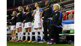 US women demand apology from football federation over anthem protests