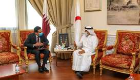 QRCS discusses humanitarian co-operation with Lanka envoy