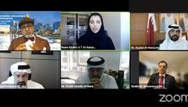 """Doha Bank recently hosted an interactive virtual client conference titled """"Qatar economic developmen"""