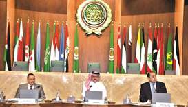 The meeting discussed preparations for the emergency meeting of the Council of the Arab League at th