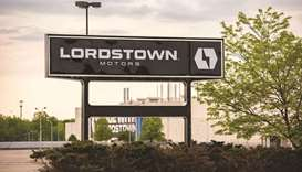 Signage outside Lordstown Motors Corp headquarters in Lordstown, Ohio. Lordstown acknowledged it had