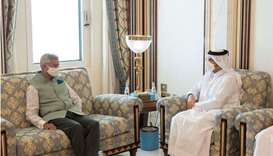 Deputy Prime Minister and Minister of Foreign Affairs meets Indian Minister of External Affairs