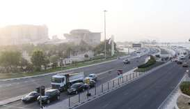 Strong winds are expected in some places Wednesday during the daytime, the Qatar Met department has