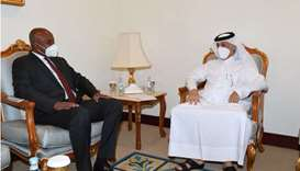 Minister of State for Foreign Affairs meets Somali Foreign Minister