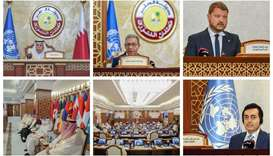 A first-of-its-kind in the world, the office which covers the parliaments of all countries, has been