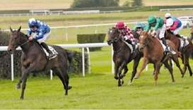 Trained by Edouard Monfort, the bay gelding was ridden to victory by Sébastien Martino in the 2,200m