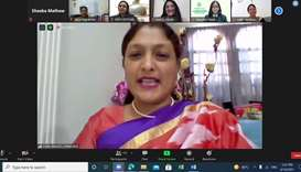The webinar was a part of the 'Alumni Talk Programme' which provides platform to the school alumni t