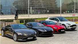 Customers were given the opportunity to test-drive the entire range of models, including the all-new