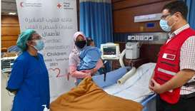 The project reached out to a total of 40 poor children with congenital heart defects, at an overall