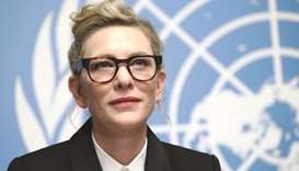 CONCERNED: Cate Blanchett.