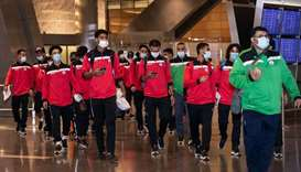 Yemeni team arrives in Doha to face Mauritania in Arab Cup Qualifiers