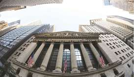 An external view of the New York Stock Exchange. The Federal Reserve's hawkish shift is forcing in