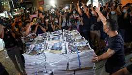 China dismisses concern for Hong Kong freedom after tabloid closure