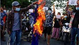 Myanmar forces clash with villagers in delta region, media report 20 dead