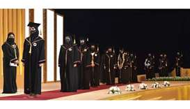 More than 2,400 female students graduate from nine colleges at QU