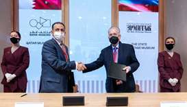 QM, Russia's State Hermitage Museum sign MoU Qatar Museums, State Hermitage Museum sign