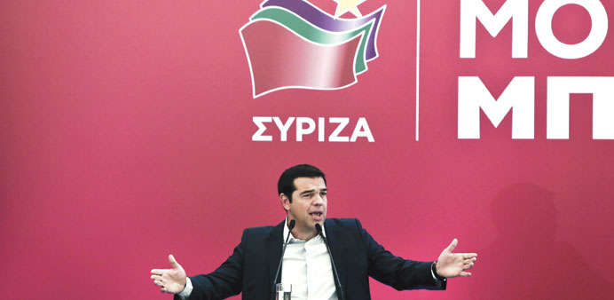 Tsipras: We are seeking a strong mandate, an absolute majority for the Syriza government.