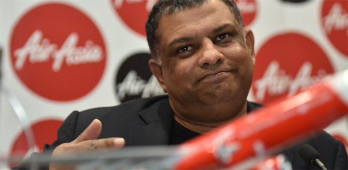 Indian police seek to question AirAsia chief Tony Fernandes