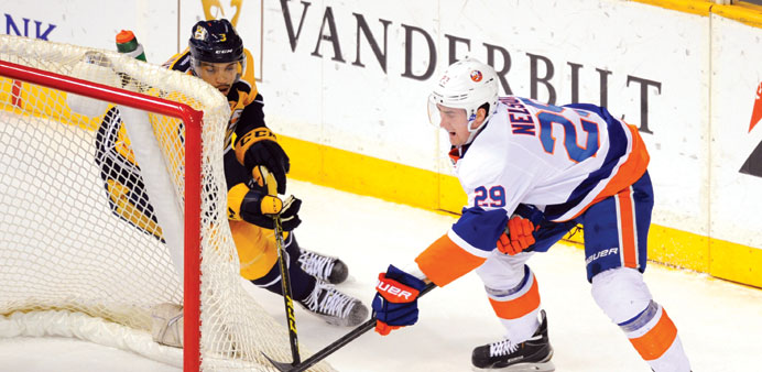 Brock Nelson's goal gives Islanders win