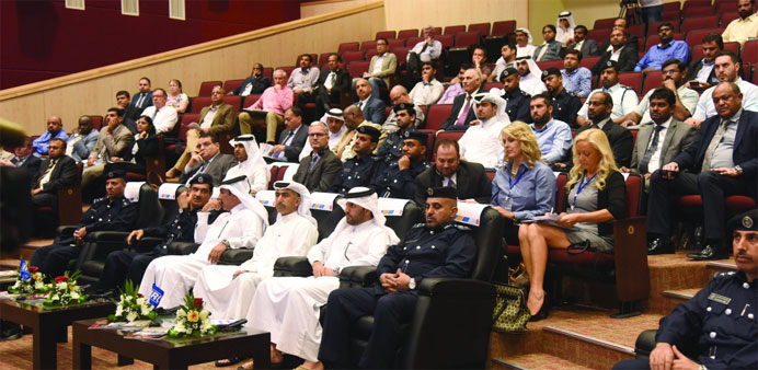 Senior officials and guests attending the workshop. PICTURES: Noushad Thekkayil