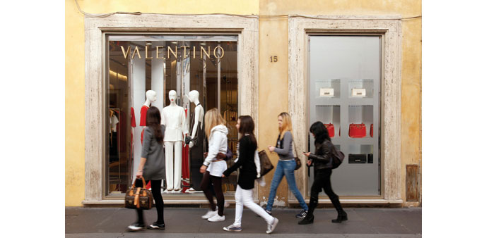 Banks line up to advise Qatar firm on Valentino