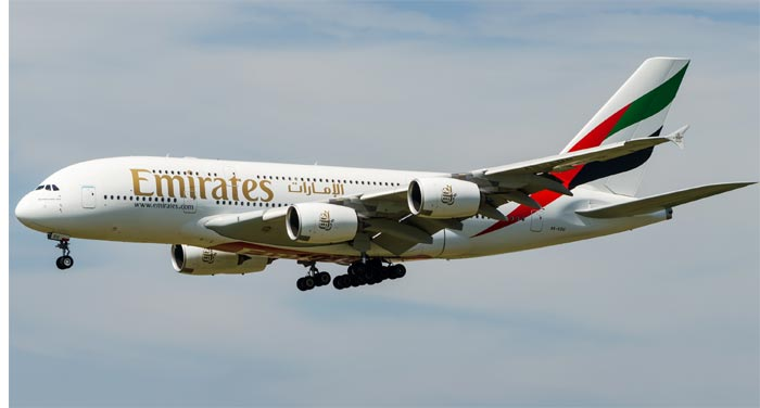Emirates first-half profit surges as fuel costs plunge
