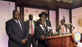 Heavy fighting reported in South Sudan capital