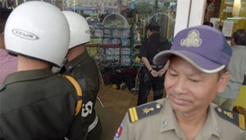 Cambodian government critic shot dead in capital