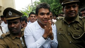 Sri Lanka arrests son of former leader Rajapaksa