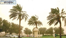Strong winds forecast again for most parts of Qatar