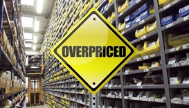 The overpriced products include automobile spare parts, some medicines, electrical appliances etc.