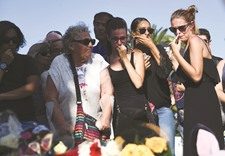 The comfort of strangers amid shock and horror