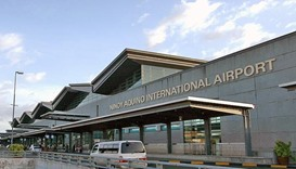 Runway damage cripples Philippines' main airport