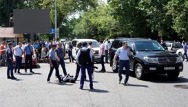 Suspected Islamist militant kills five in Kazakhstan