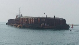 Al Ruwais port receives first barge