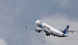 Doomed EgyptAir flight broke up midair after fire