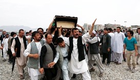 Anger, mourning in Afghanistan after Kabul suicide attack